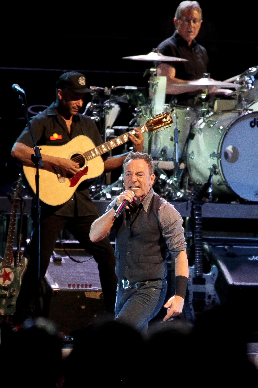 Bruce Springsteen, Allphones Arena, February 2014