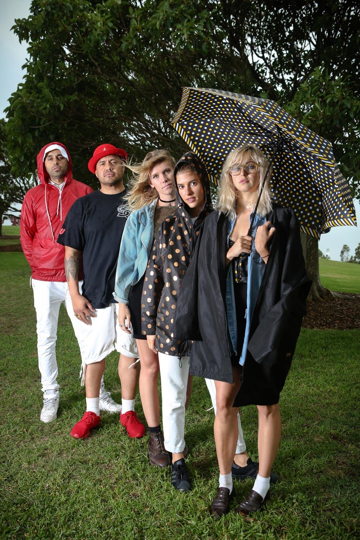 Shantan, Hau, Jenny, Luen & Rosie.