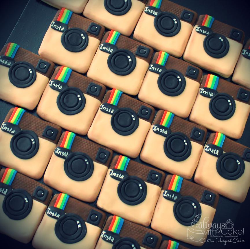 Instagram Sugar Cookies