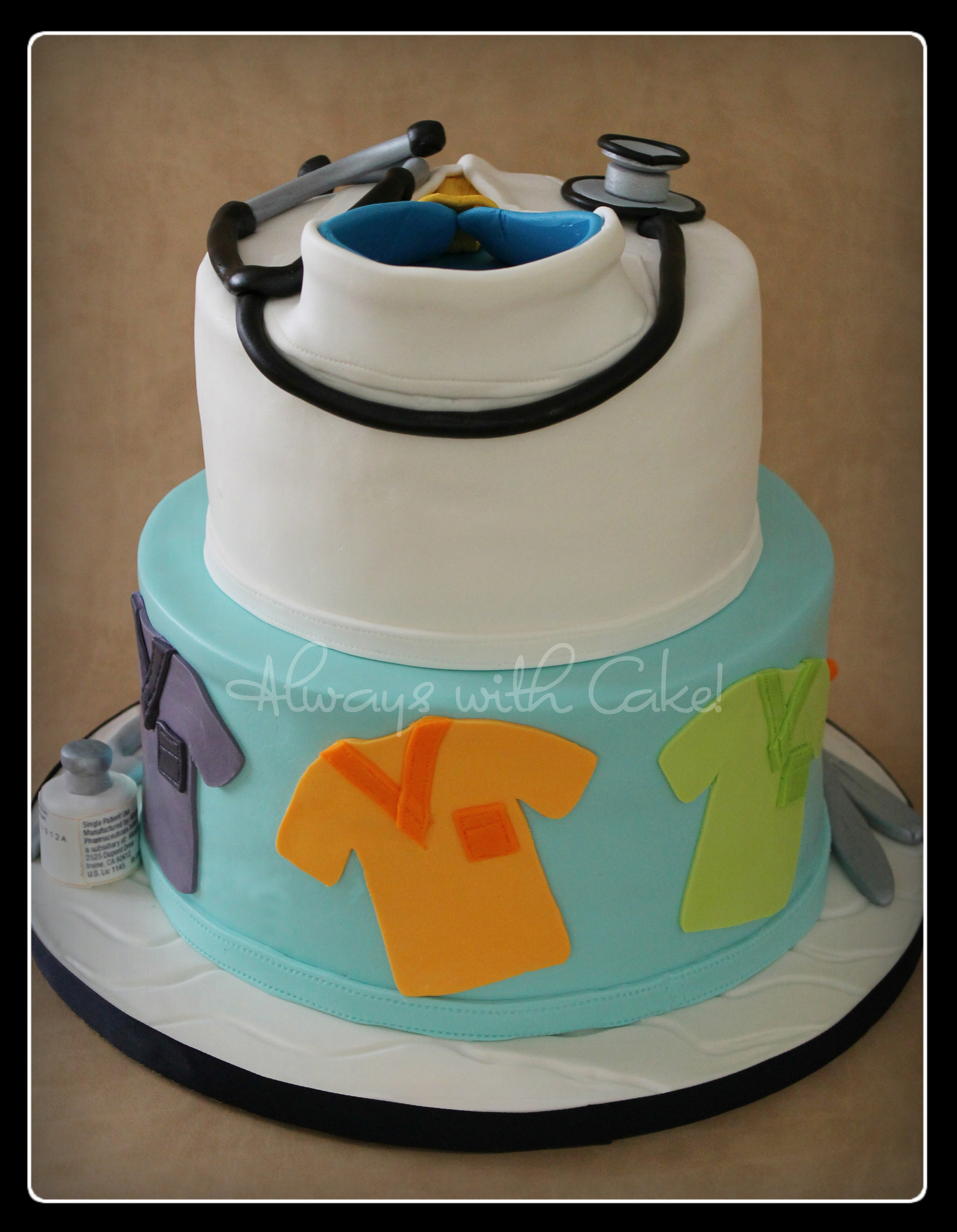Doctor's Cake - Back View
