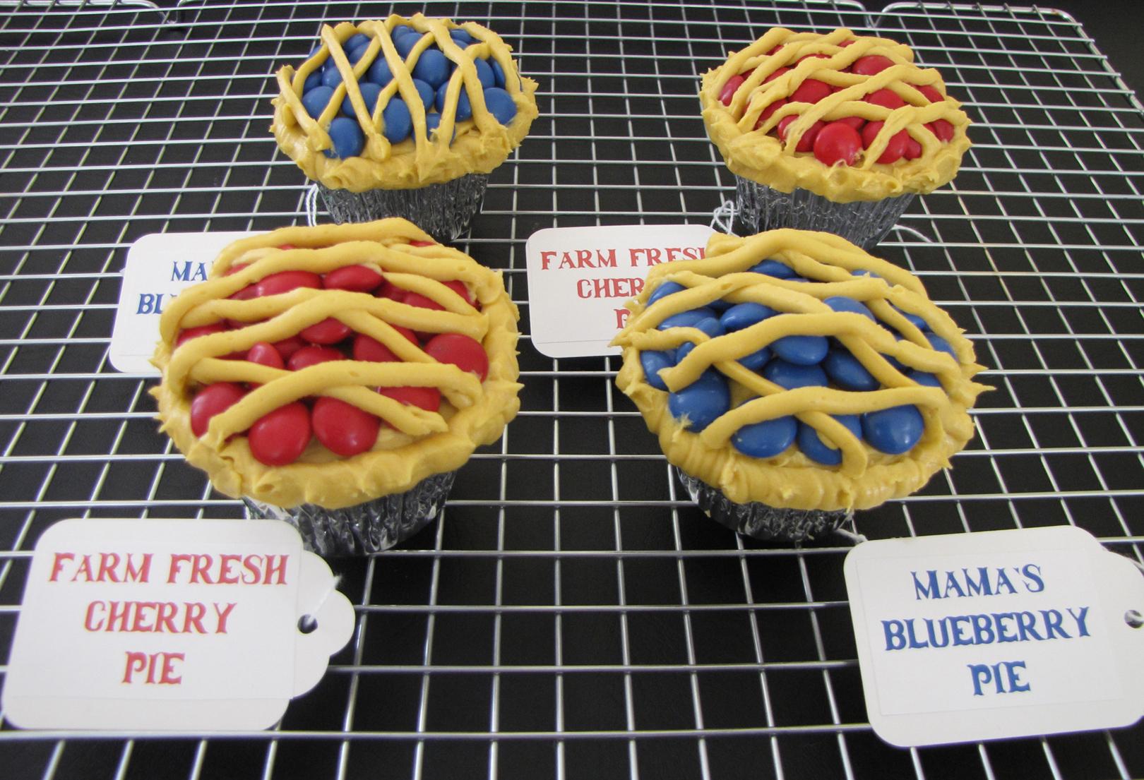County Fair Pie Cupcakes