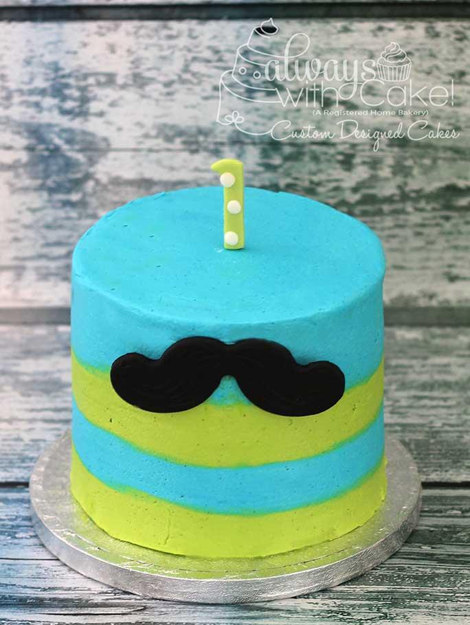 Lil Man Smash Cake