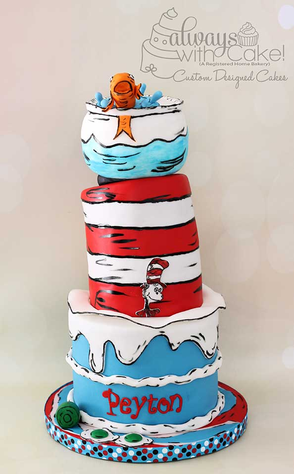 Dr. Suess Cake