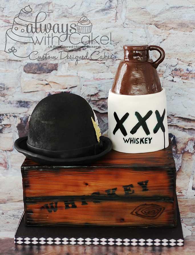 Prohibition Whiskey Cake