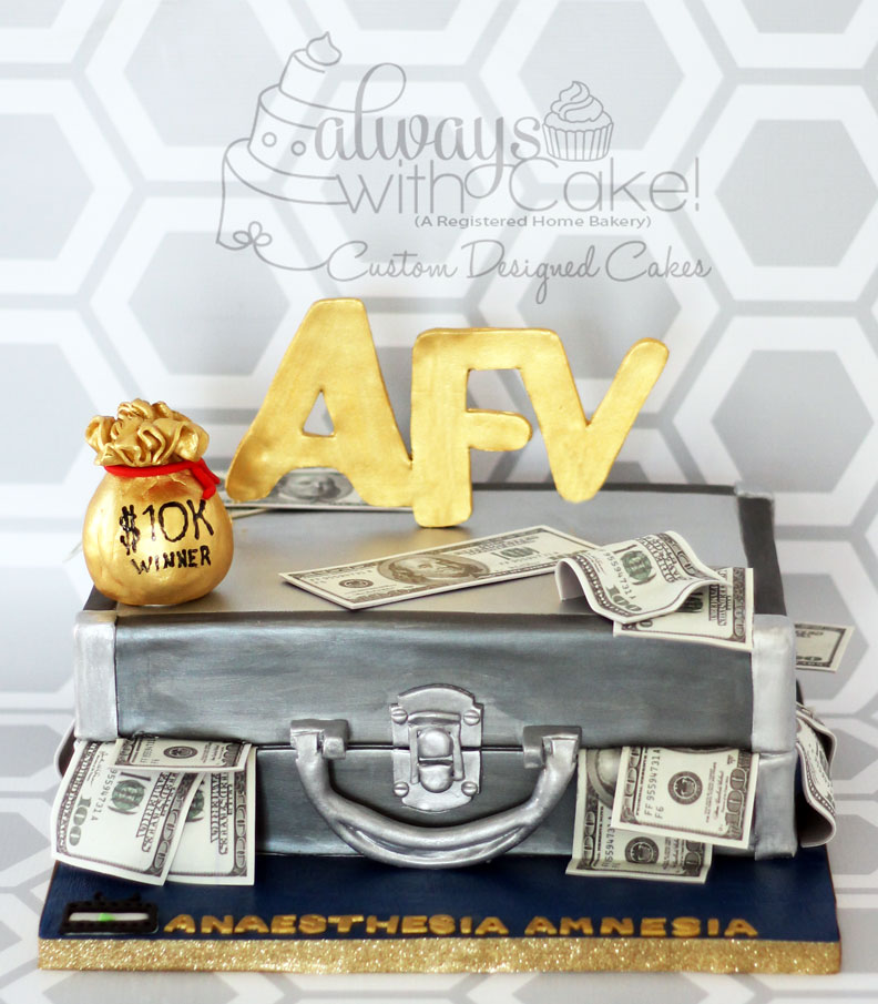 AFV $10K Winner Cake