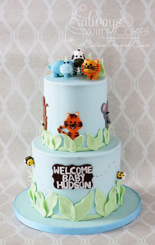 Safari/Zoo Cake