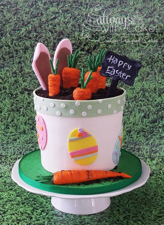 Pot of Carrots Cake