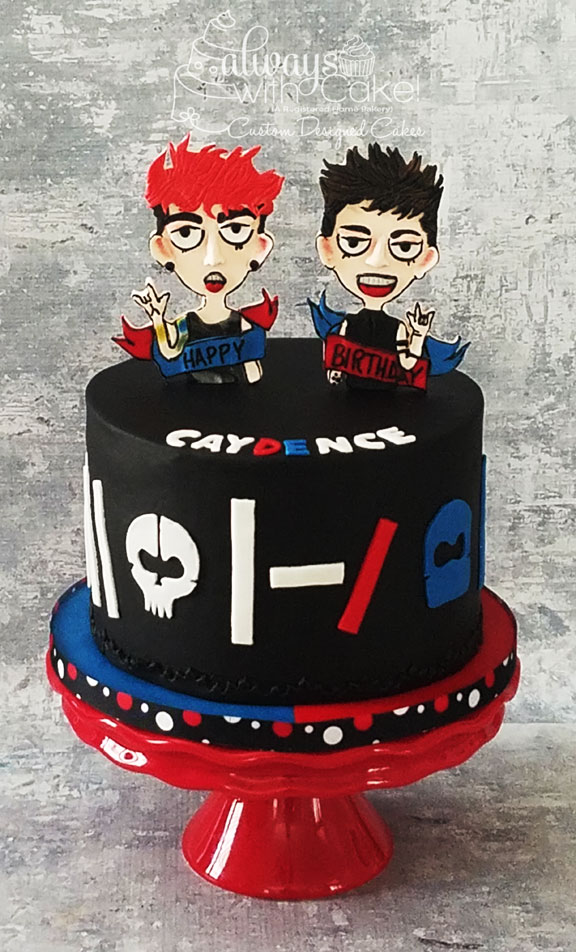 Twenty One Pilots Cake