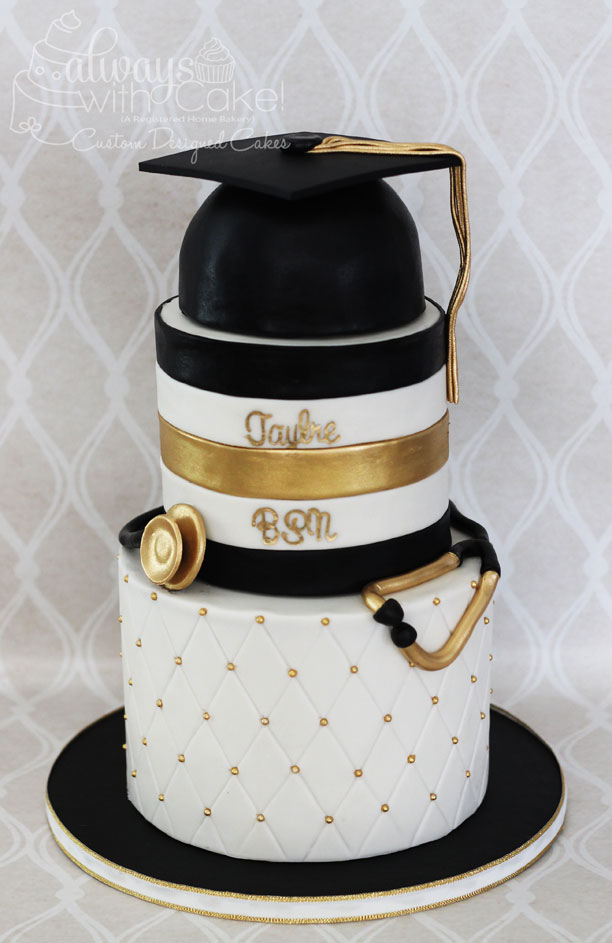 Nursing Graduation Cake