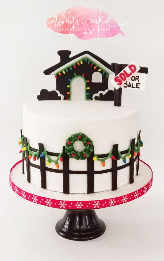 Realtor Christmas Cake