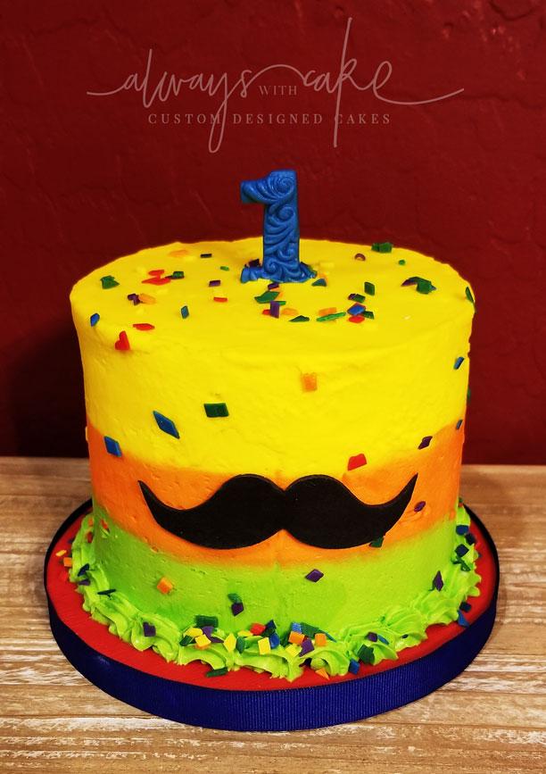 Fiesta Smash Cake