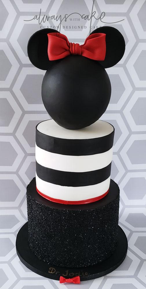 Kate Spade Disney Graduation Cake