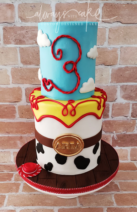 Toy Story/Jessie Cake