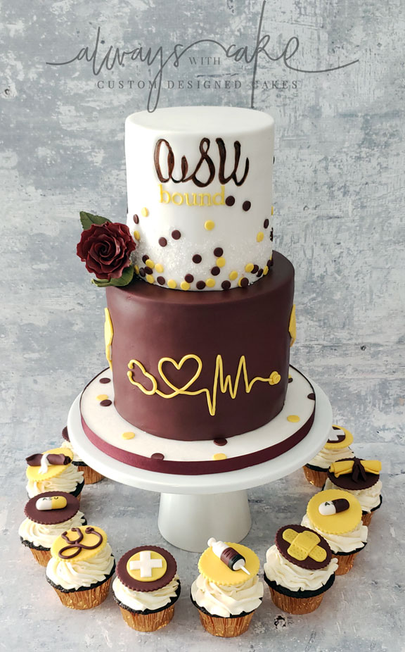 Graduation Cake - ASU Bound