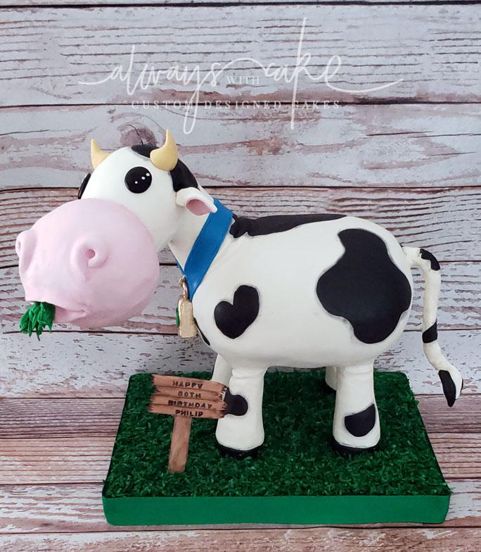 Grass Fed Cow Cake