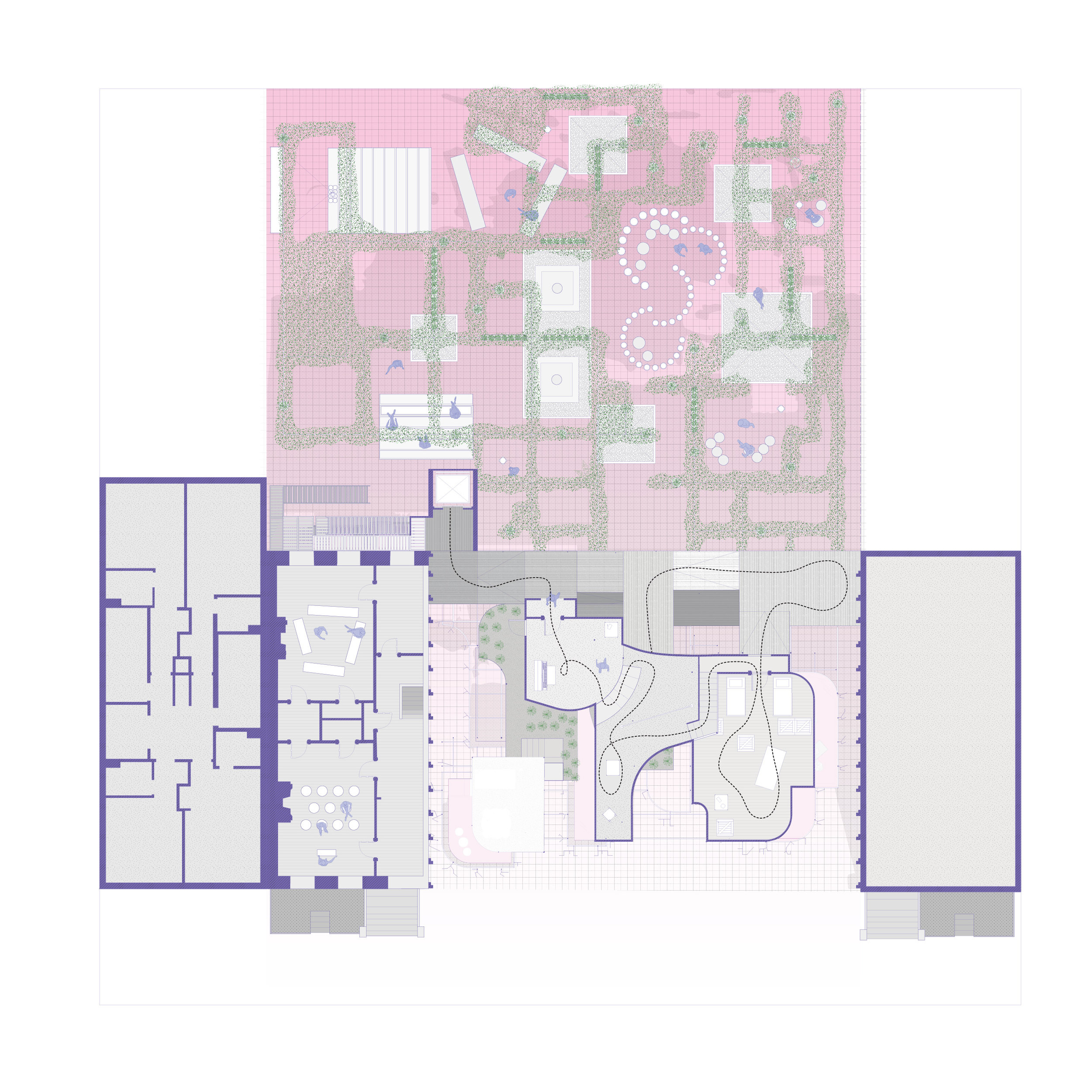 Museum level plan