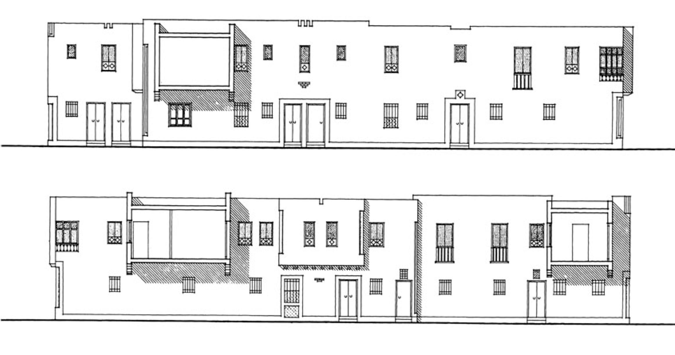 "Figure 6: Association de Sauvegarde de la Médina. ""Reconstruction of Hafsia Quarter II.""  Reconstruction of Hafsia Quarter II . The Aga Khan Award for Architecture. 55"