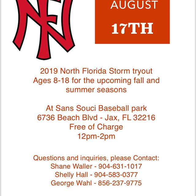 Free tryout! #SpreadTheWord #StormSurge