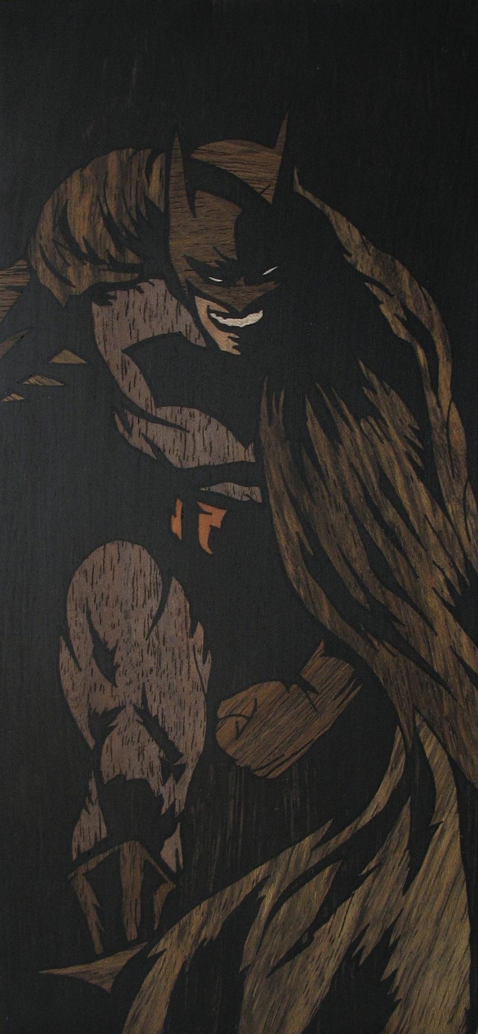 BATMAN 2 INLAY