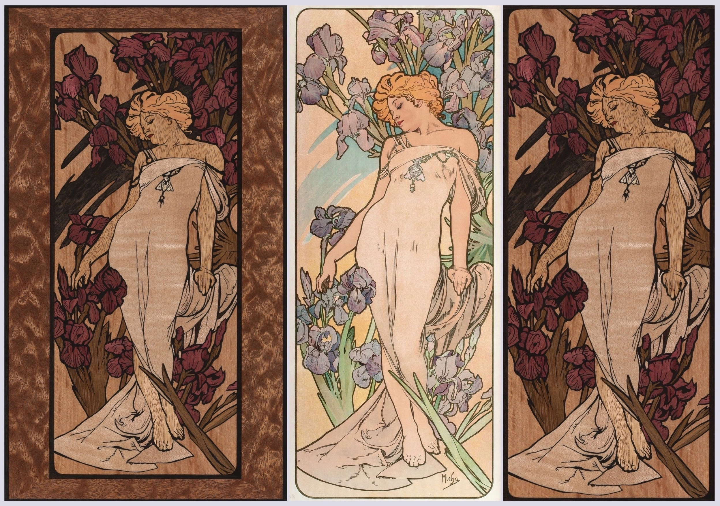Mucha The Iris Inlay blogpost