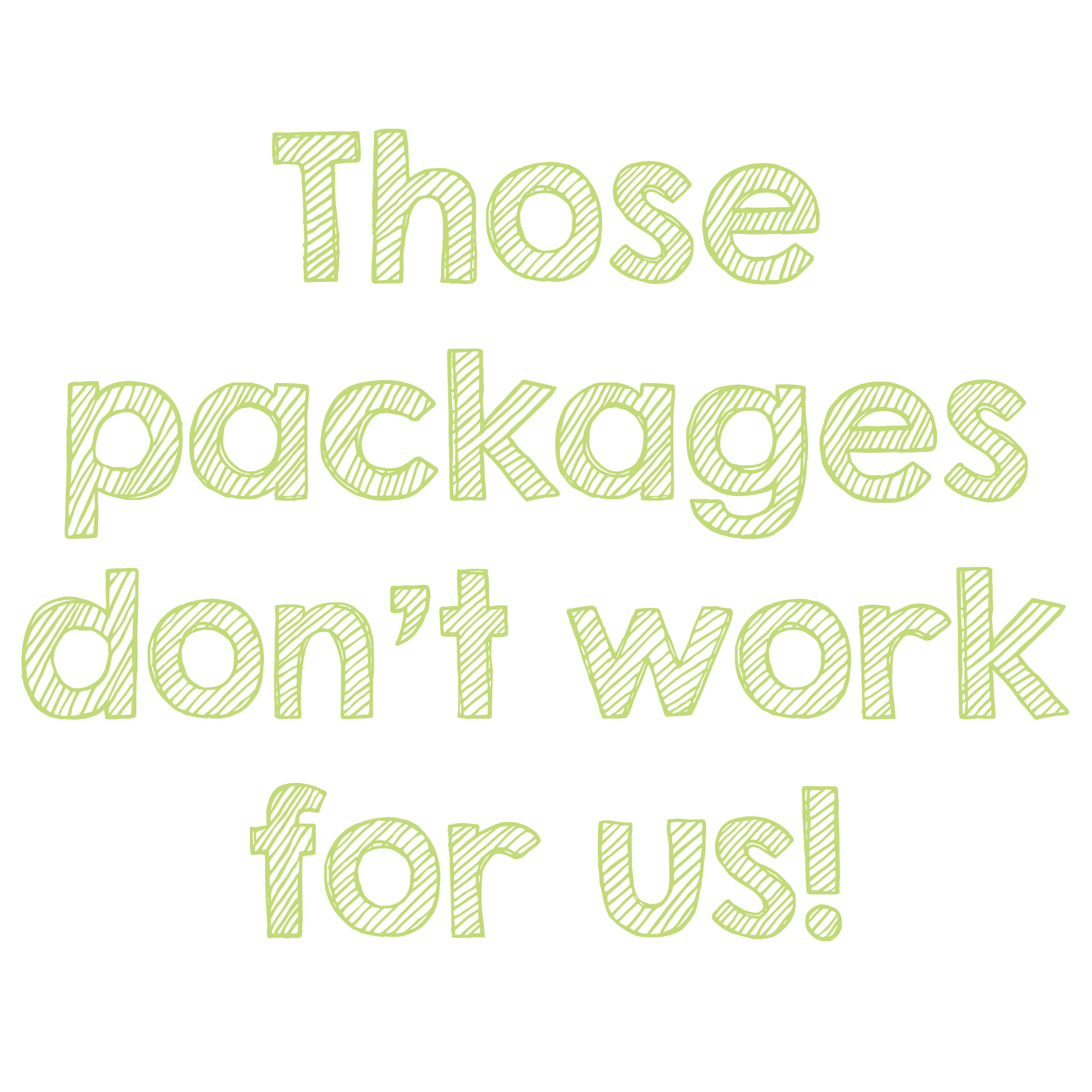 - You like us but these packages don't suit your day?No problem. If you want a bigger album, more time, less time, you only need one of us, something else just send over an email or give us a call and we'll be happy to tailor a package just for you. Travel expenses for destination weddings vary from country to country. They're always fair and accurate. We're not the kind of people who would bump up the price to make more money out of you and we love Ryan-air. That's a lie, no-one loves Ryan-air but we do love £50 flights!