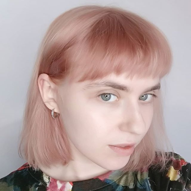 Look at this little pink cutie ❤️ thanks Camilla x @rcnq . . . #pinkhair #pinkbob #fringe #bobhaircut #hairdresser #hairstory #bumbleandbumble #babypink #manchestersalon #manchester #rcnq