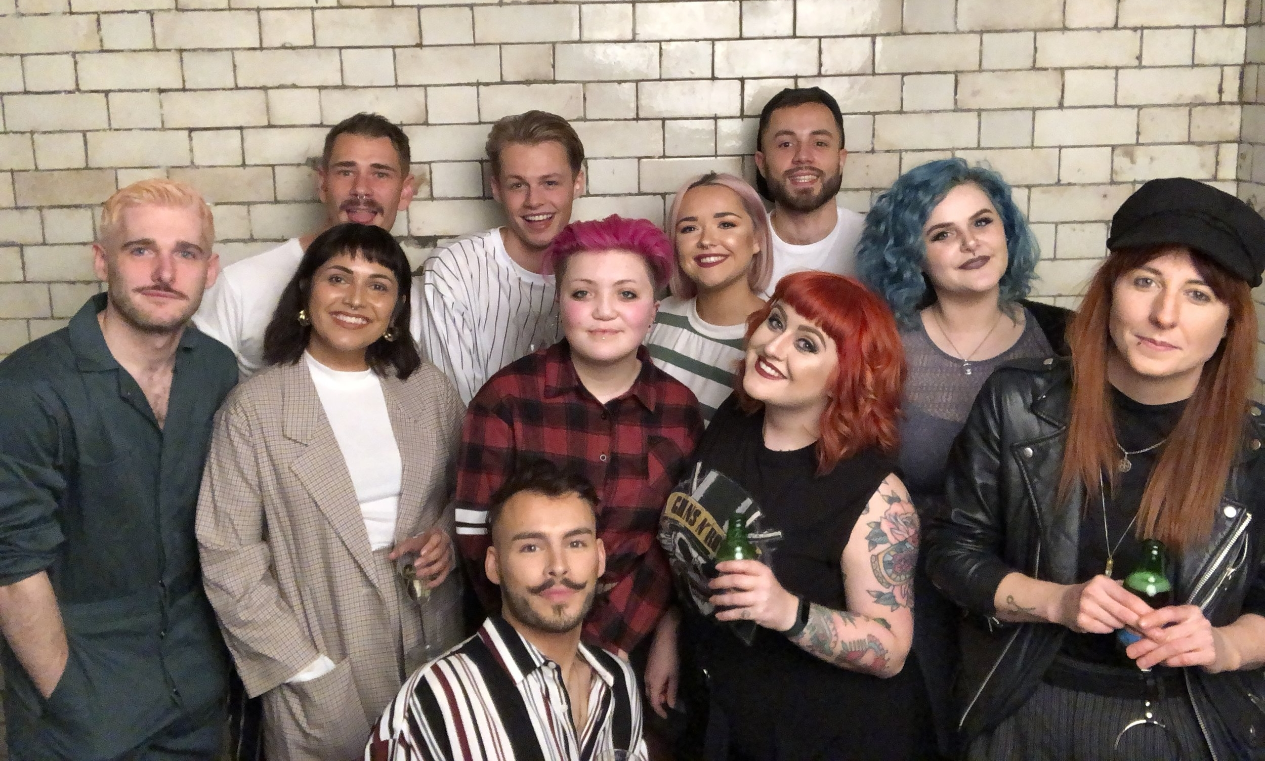 RCNQ Hairdressers in Manchester Salon Team