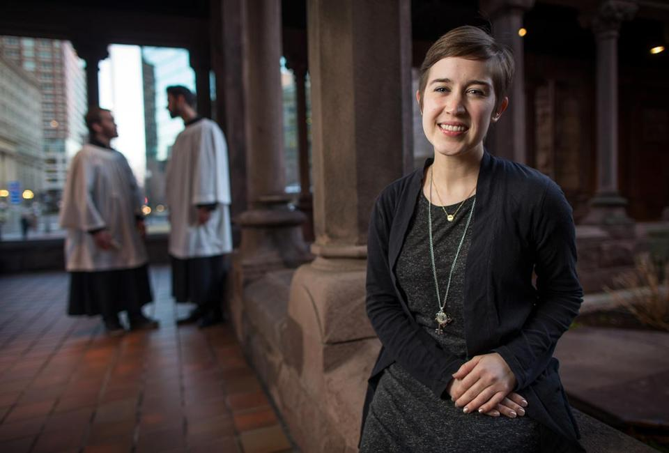 Boston Globe article, 5/27/14   Making a living on the competitive church-music circuit  -  A soprano and a composer share their struggles and successes.   Article by writer Colin Fleming