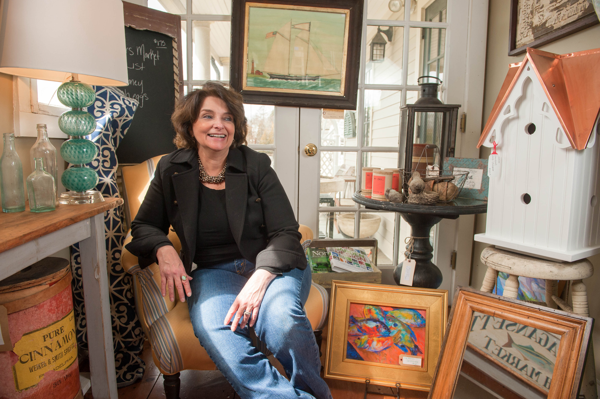 Deb Mehring, owner of The Wickford Collection, talks about her previous interior design projects in Rhode Island