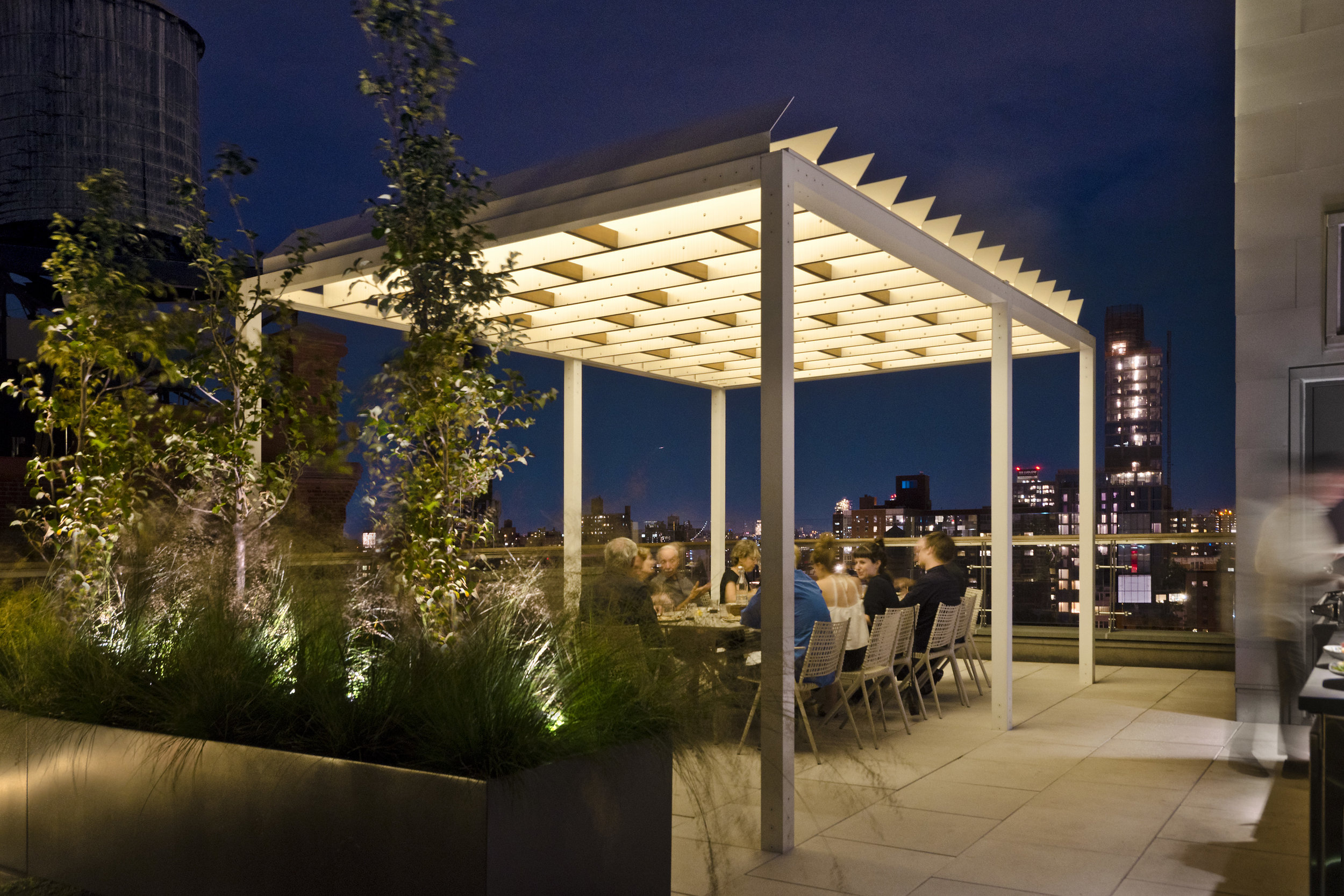 ACHA, Roof Terrace, 285 Lafayette Street,SoHo, NYC