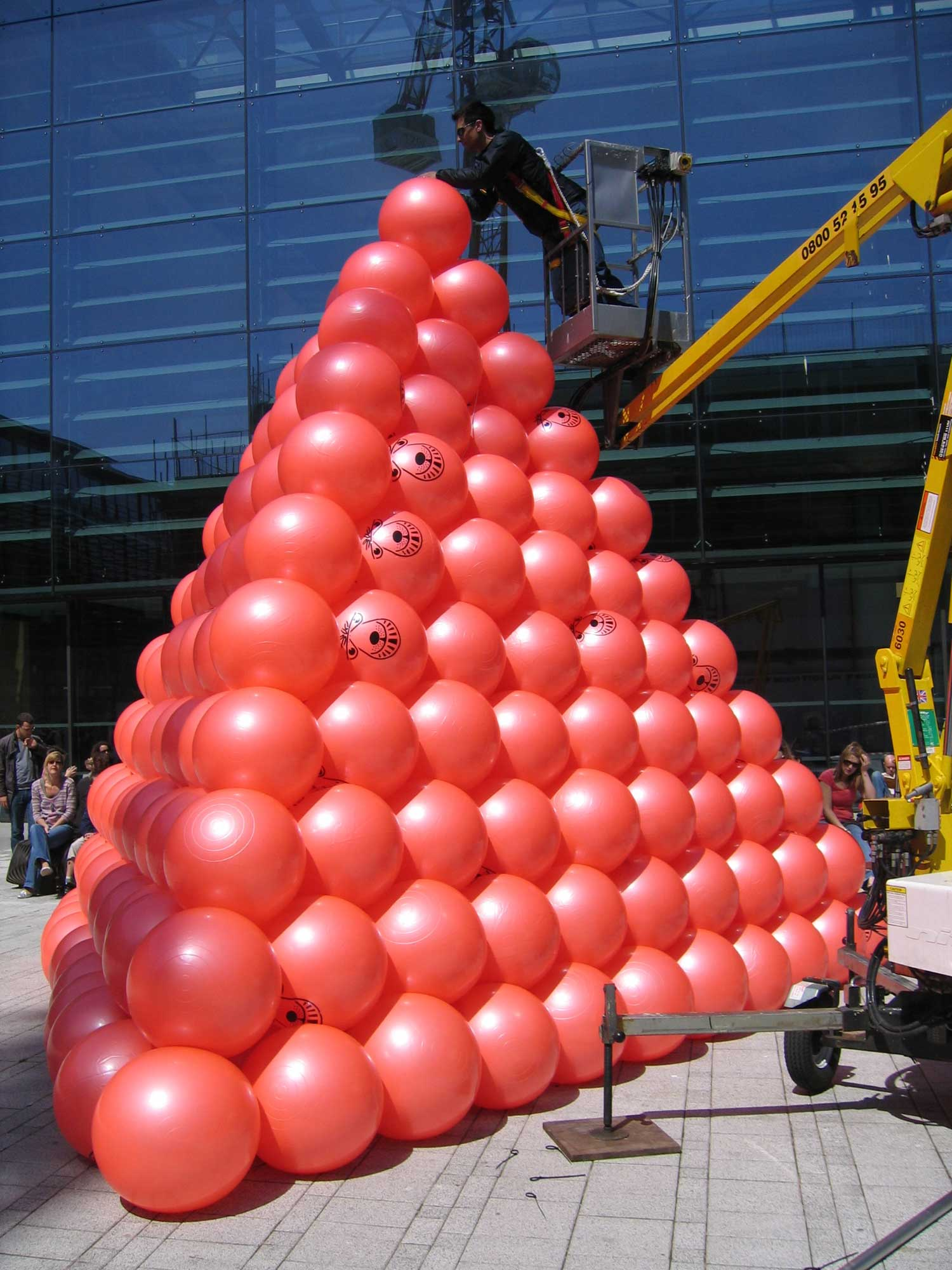Space Hopper Pyramid