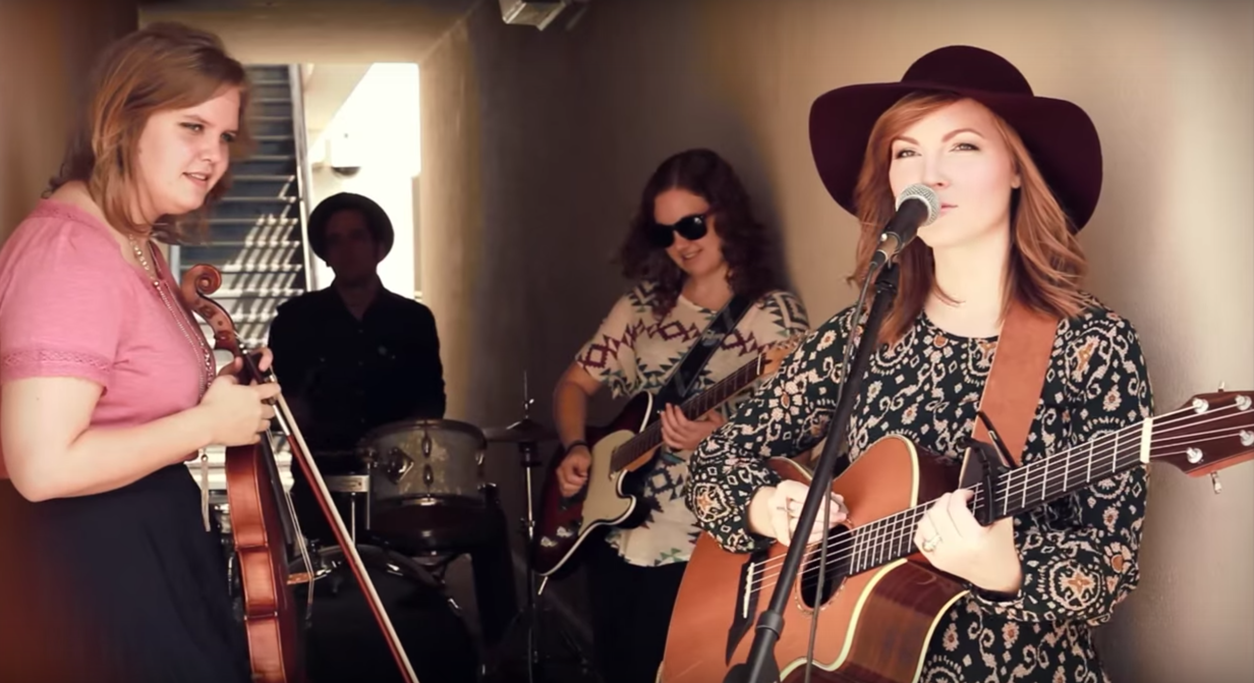 "Erica covering  indie- rock band  Bad Suns ' ""cardiac arrest"" in 2015. See the video  here ."