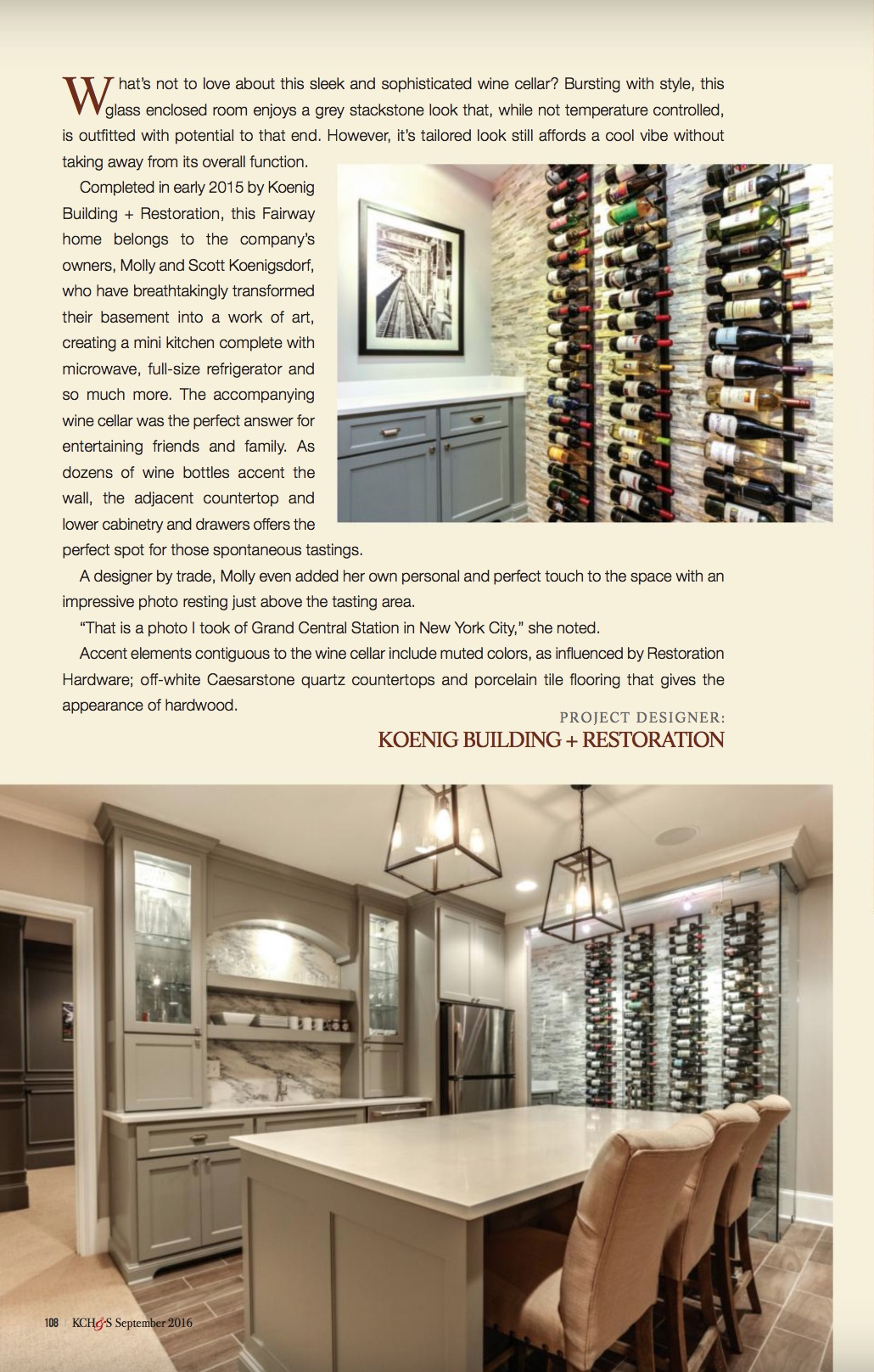 KC Homes and Style Magazine Sept 2016