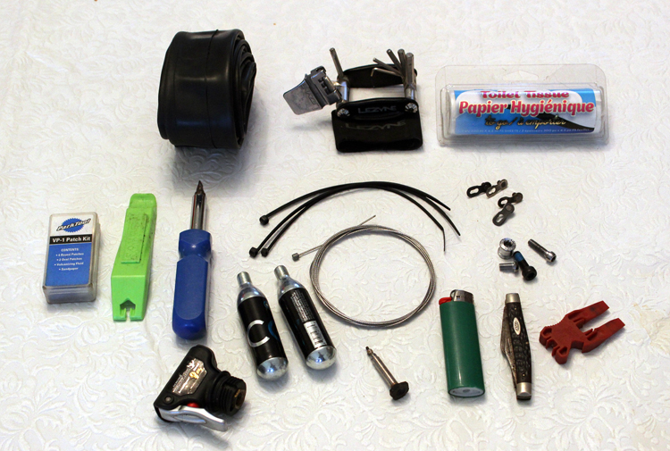 A small collection of repair items can have enormous value on the trail.