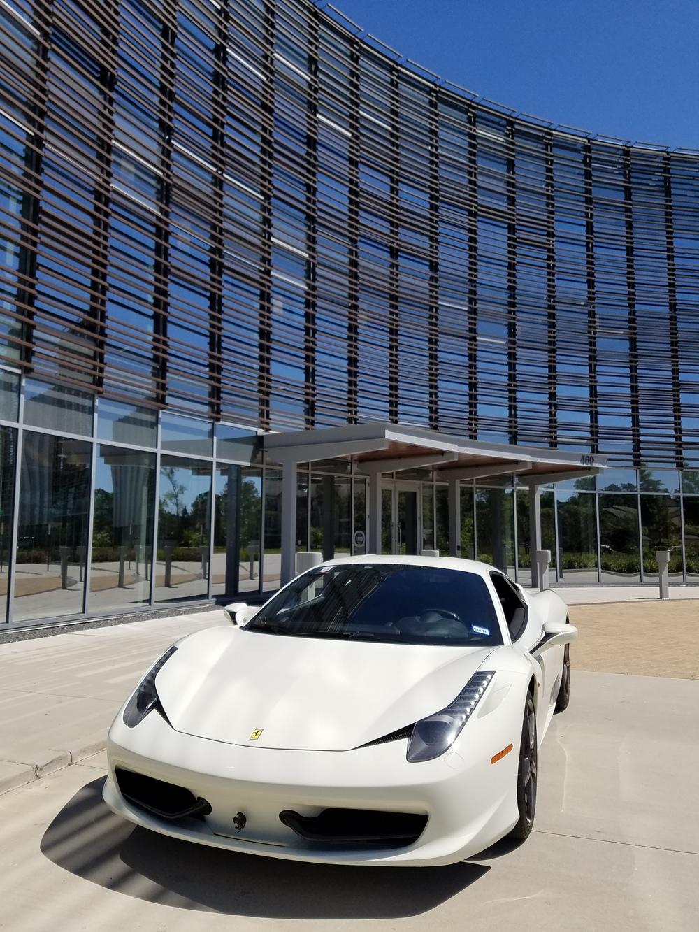 Rent A Ferrari 458 Italia In Houston Exotic Car Rental Houston The Woodlands