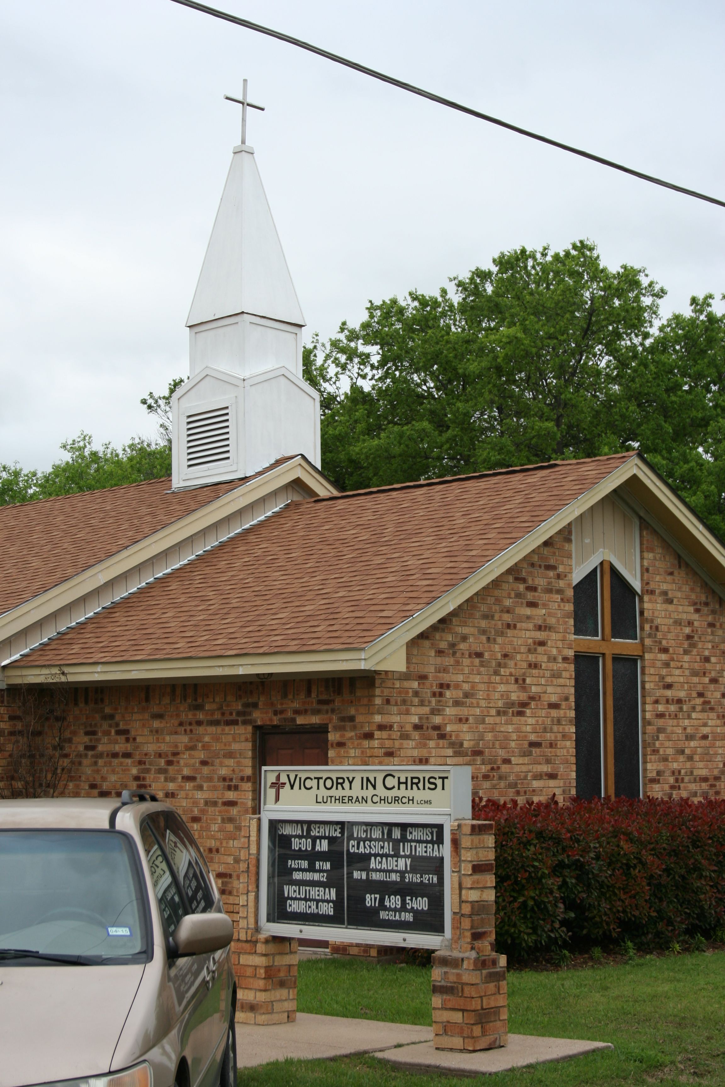 Victory in Christ Lutheran Church, Newark, Texas