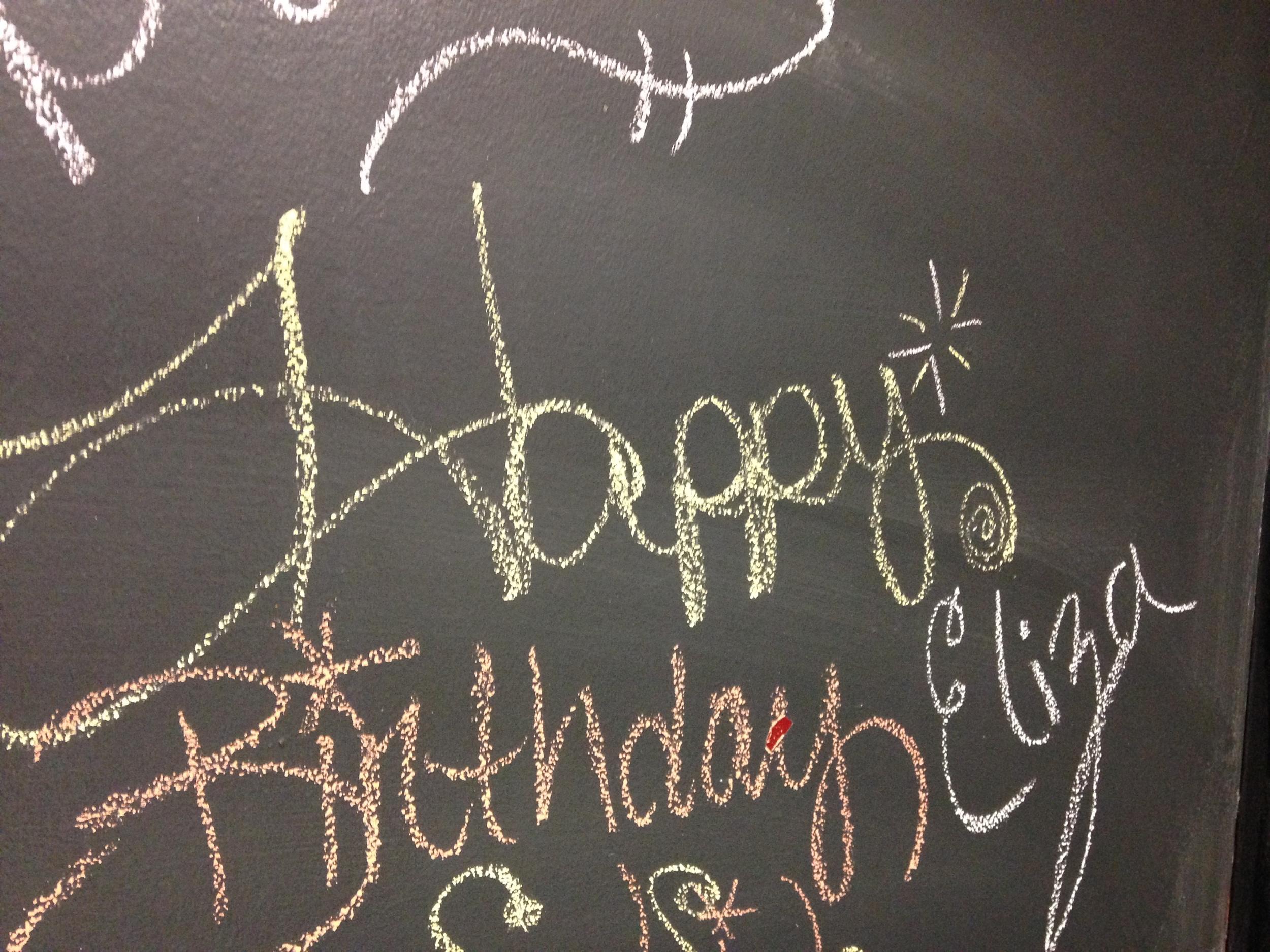 Eliza's Birthday
