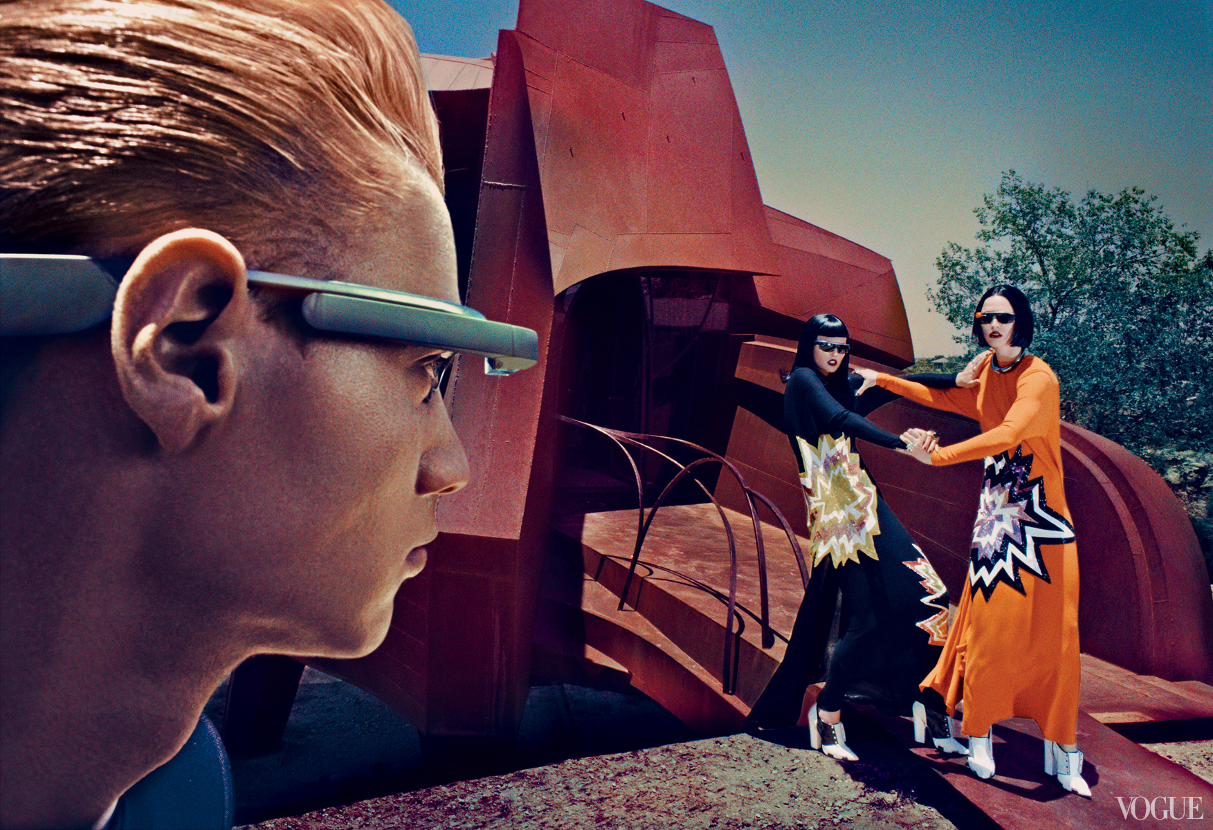Vogue September 2013  Raquel Zimmermann  Photographed by Steven Klein  Styled by Tonne Goodman