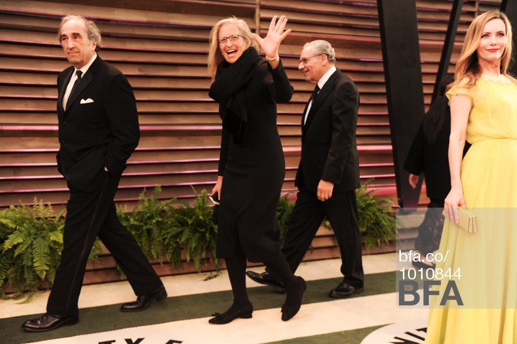 Annie Leibovitz - Vanity Fair Oscar Party 2014 - Christy Rilling Studio dress