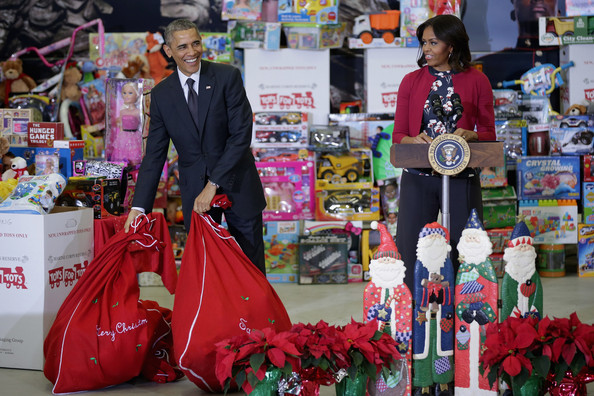 Tory Burch  Toys for Tots delivery, Washington DC - December 10, 2014