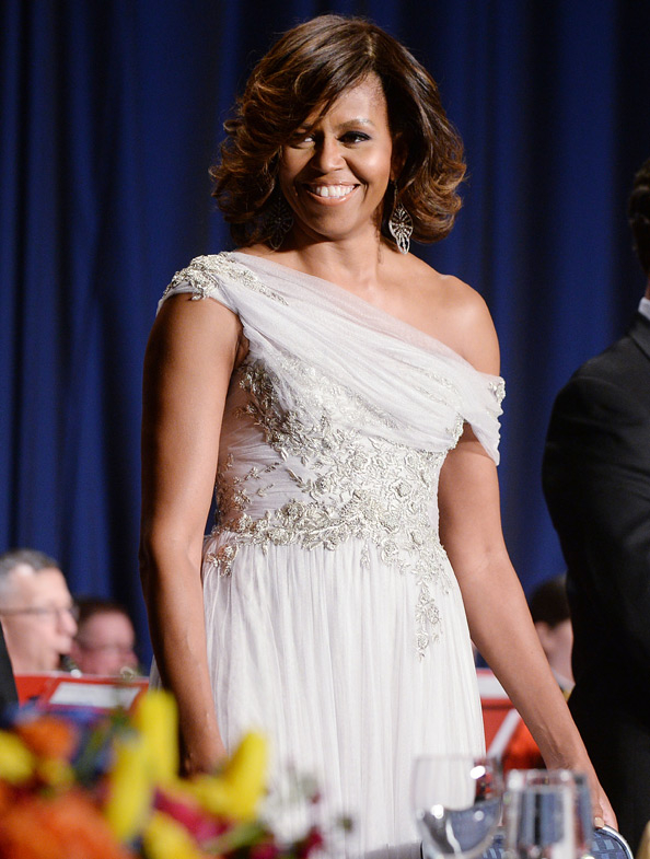 Marchesa  White House Correspondents Dinner,Washington DC - May 3, 2014