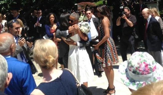 Tory Burch  Malia Obama Graduation, Washington DC - June 10, 2016