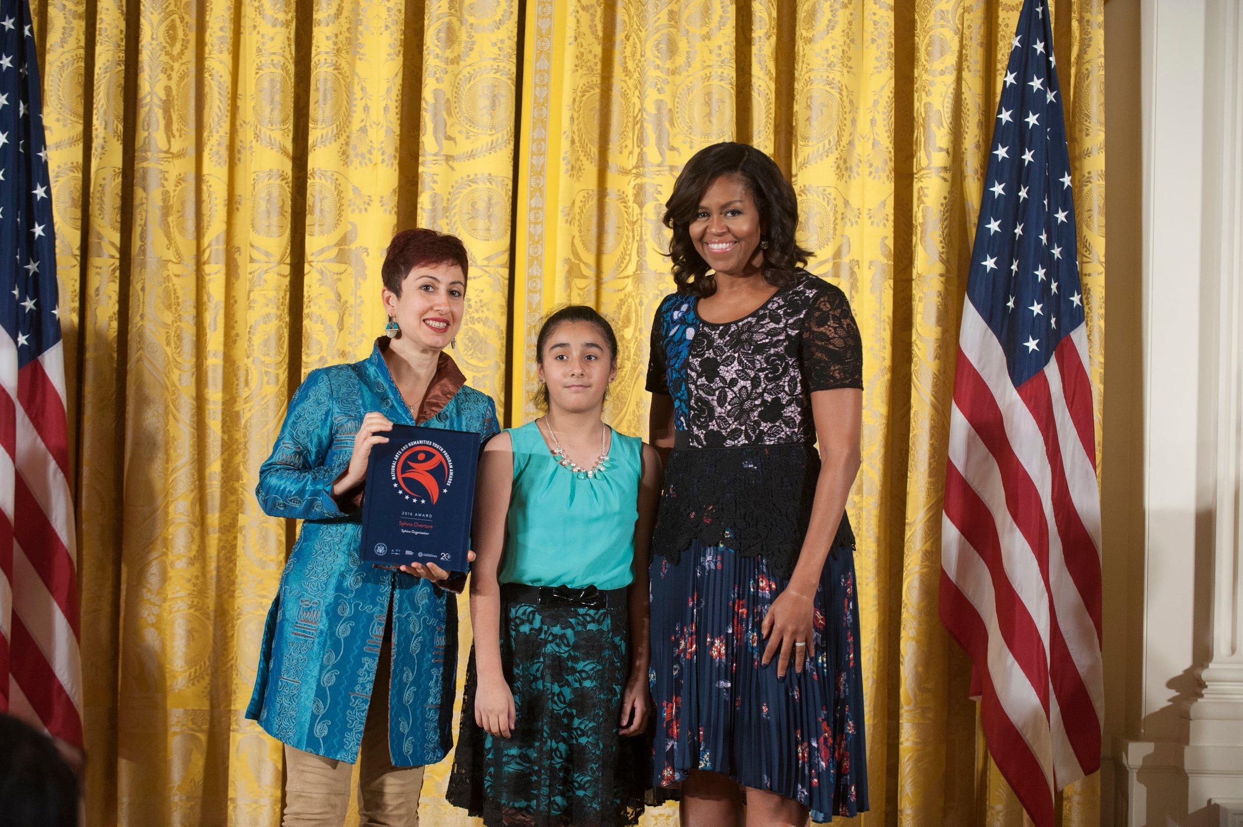Self-Portrait  National Arts & Humanities Youth Program Awards, Washington DC - November 15, 2016
