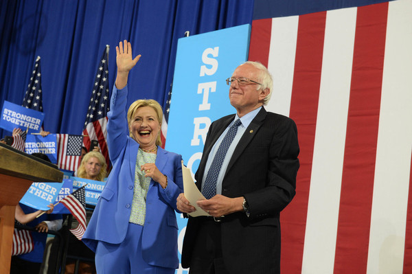 Hillary Clinton - July 2016 - Christy Rilling Studio camisole