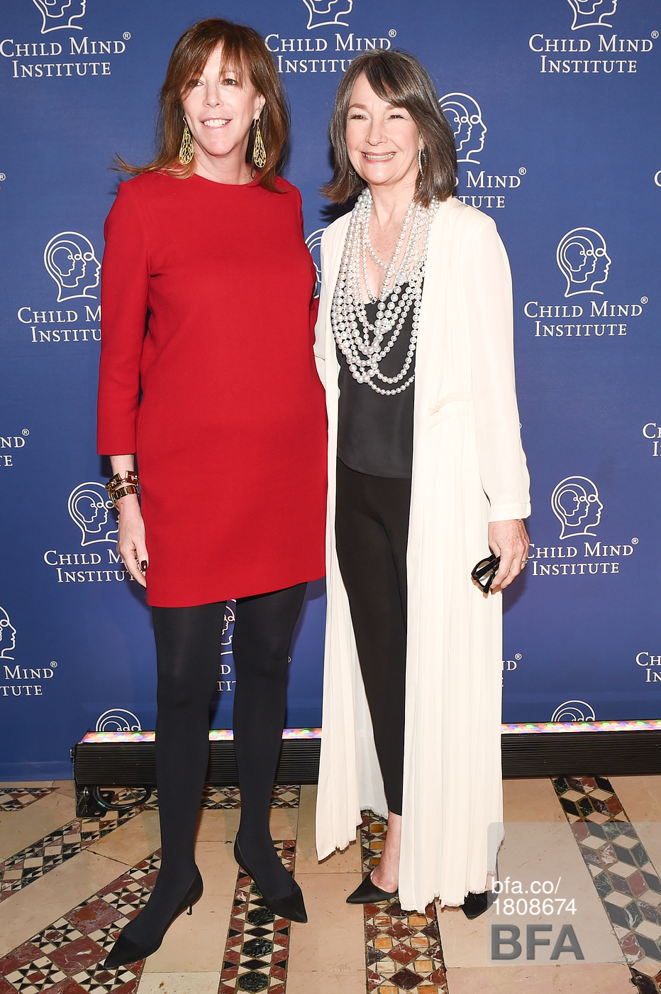 Jane Rosenthal & Brooke Garber Neidich - December 2015 - Christy Rilling Studio shift dress & camisole