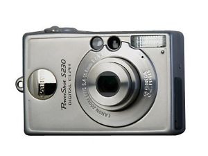 Canon Powershot S230 - my first digital camera!