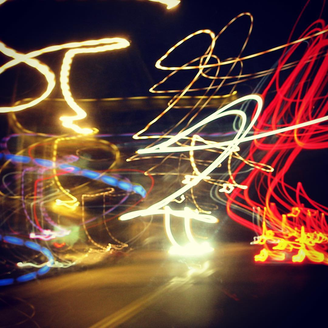 Slow Shutter Traffic   #lighttrails #slowshutter #traffic #night #city