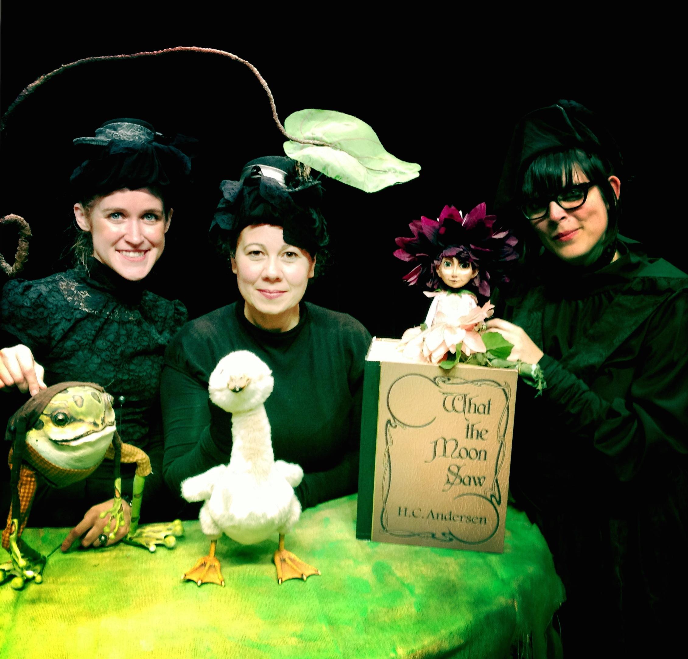 Performers Veronica Barron, Faye Dupras and Sarah Frechette