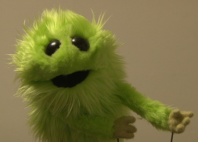 Make your own furry creature with Jon Little, Little's Creatures! Class begins April 28.