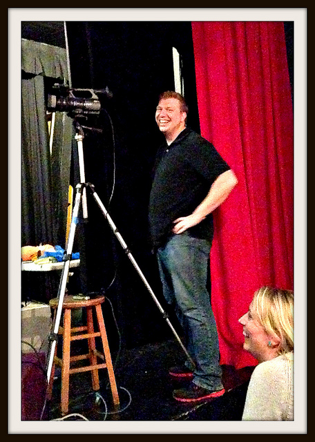 Instructor JonathanLittle poses for the camera!